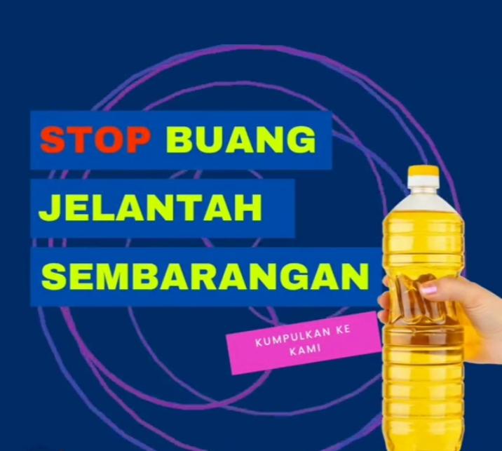Jangan Buang Minyak Jelantah Anda