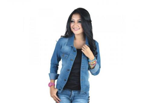 Jaket Denim Casual