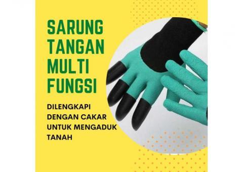 Sarung Tangan Berkebun Dengan Kuku Cakar Multifungsi