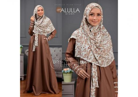 Dress Syari + Khimar Alulla