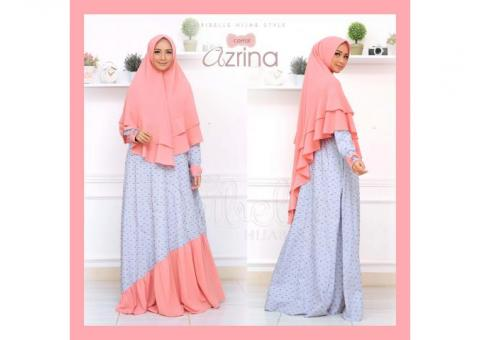 DRESS SYARI + KHIMAR AZRINA