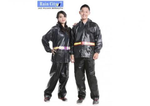 Jas Hujan Stelan Trans Rain City