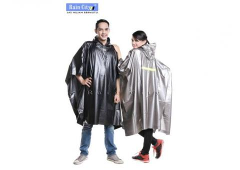 Jas Hujan Poncho Tip Top Scotchlight Rain City