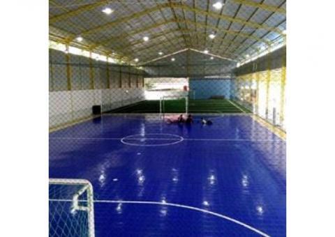 pengadaan material futsal dan badminton