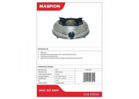 Maspion MKG 201 SSHF Kompor Gas Stainless