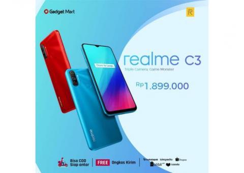 Realme C3 3/32 RAM 3GB ROM 32GB - Kotabaru