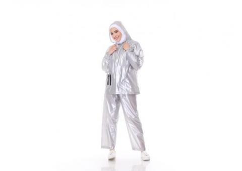 Jas Hujan Bromo 3G - Silver